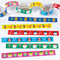 Fun Colourful Novelty Retro Vintages Style Christmas Penguin Paper Chain Garland