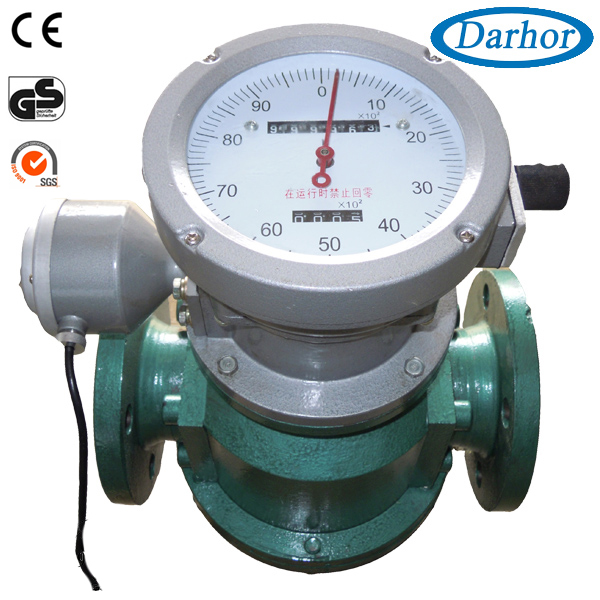 DH900 high accuracy digital diesel fuel flow meter