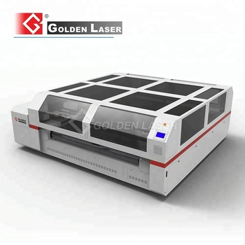 CO2 Laser Cutting Machine for Filter Cloth with High Precision Rack and Pinion