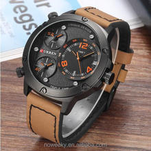 New Men's Quartz Watch Multiple Time Zones Top Luxury Brand Sports Wrist Watch Business Relogio Masculino 8262