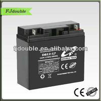 hot sale Lead Acid SMF Battery 12v 17ah with CE,ISO,portable battery pack