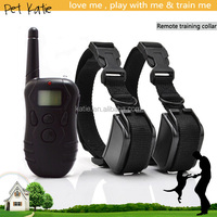 Wholesale Remote Control Two Dogs Trainer Shock Collar Beeper Vibrate Stimulus
