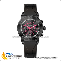 Silicone durable watch cheap man and women watch version with top quality watch 5043
