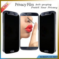 Mobile phone accessory privacy screen protector for Samsung Galaxy S4