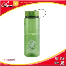 Sport plastic water bottle/water jug with customer's logo design