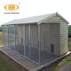 UK market hot dip galvanized large steel bar dog run kennel