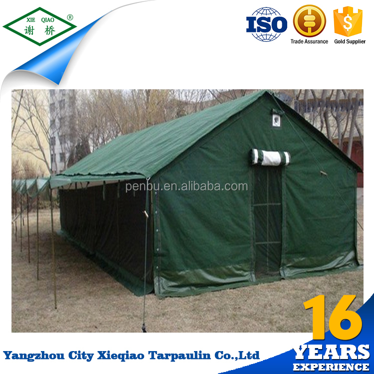 Family outdoor swag large waterproof canvas tent import china goods