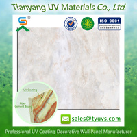 Made In China Textile Waterproofing Slat Wall Panel UV decor fiber cement board