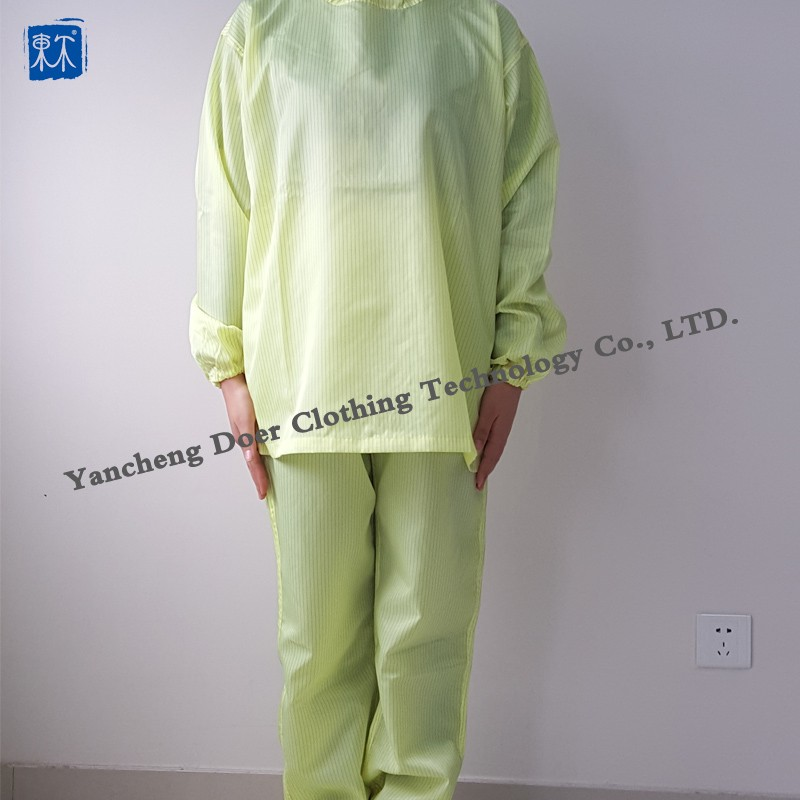 Cleaning work smocks ,antistatic uniform