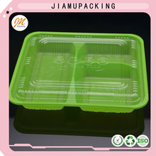 High quality disposable plastic storage food container with lid