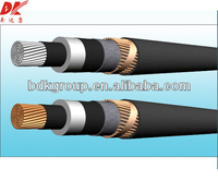0.6/1kV AL/PVC/PVC(or PE) Power Cable / submersible pump flat cables
