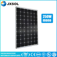 TUV approved high quality 250w mono solar modules portable soalr panel