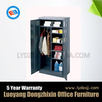 High grade steel cabinet clothes locker metal closet wardrobe