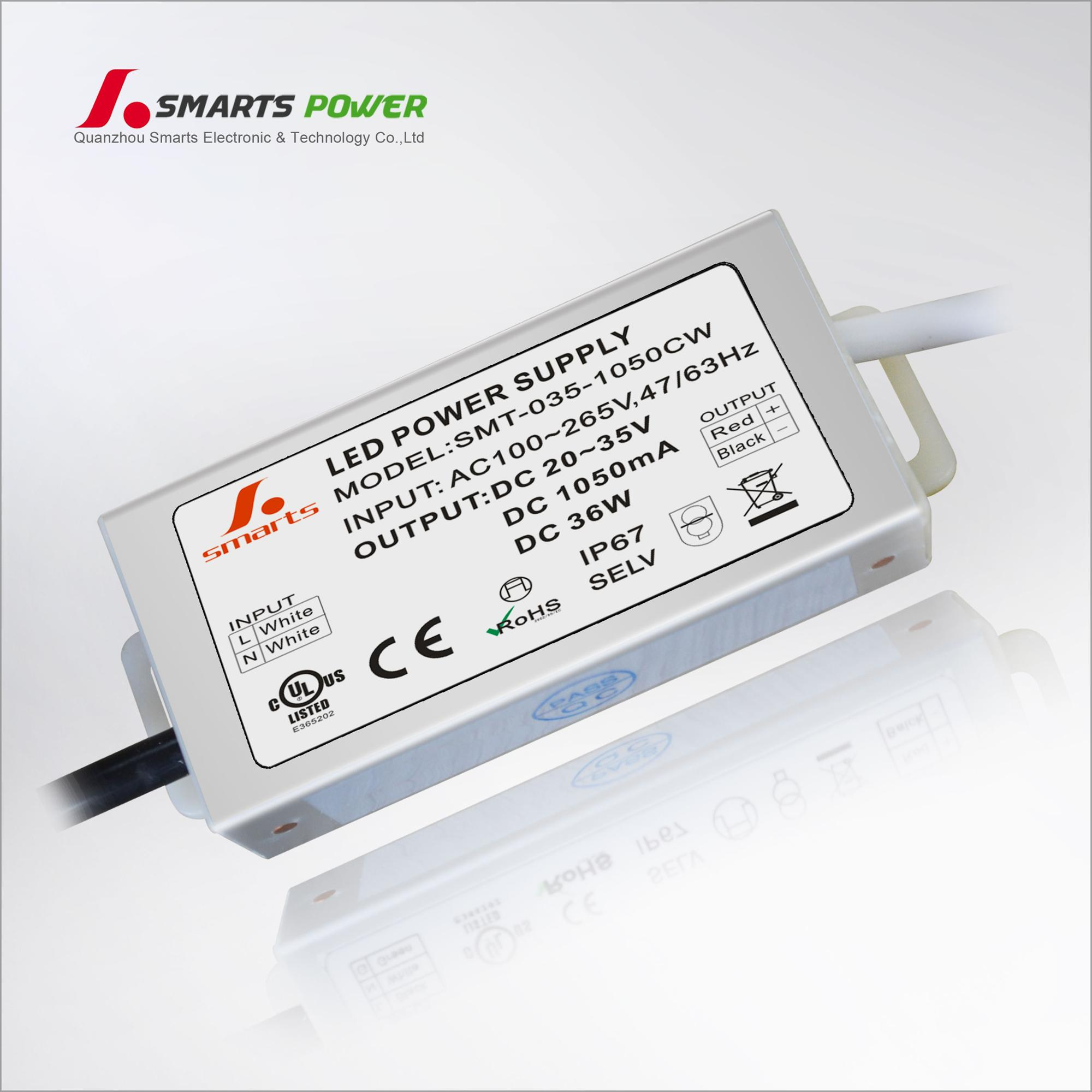 CE ETL ROHS ETL 12v 4a 48w triac dimmable power supply