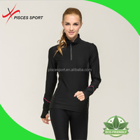 very low price simple t shirts long sleeve gym shirts for woman