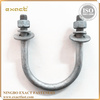 MANUFACTURER SUPPLY HIGH QUALITY ZINC/YELLOW/HOT DIP GALVANIZED STANDATD GRADE4.8/8.8/10.9 U BOLT NUTS&BOLTS FLAT WASHER TYPES