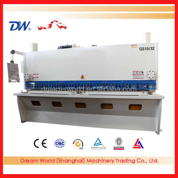 Anhui mild steel stainless steel plate shearing machine factory