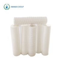 "Polypropylene 20"" String Wound Filter Cartridge For Household Dring Water Filtration"