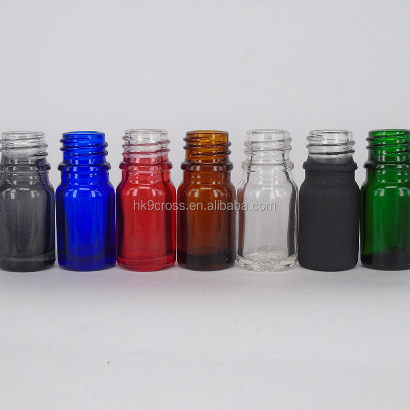 essential oil glass eye dropper bottle 5ml glass vial with roll on cap