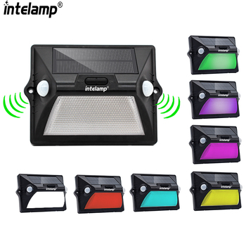 Waterproof solar lights outdoor garden solar garden light with 7 color changing