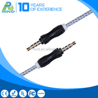 Colorful Aux Cable Car Stereo 3.5mm Male Aux Audio Plug Jack To USB 2.0 Female USB Cable