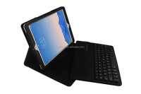 for ipad air bluetooth keyboard leather case, tablet case for ipad air keyboard case