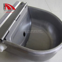 animal trough pig floating trough stainless 270*250 mm
