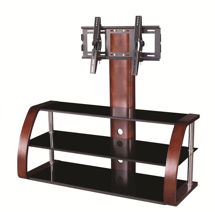Habitaciones de madera contrachapada de plasma lcd tv mesa de ...