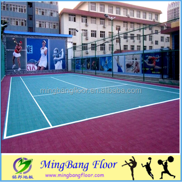 hot sale 2016 safety pp outdoor interlocking vinyl basketball court floor