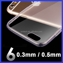 Clear Crystal Transparent TPU free sample cell phone Case Cover For iPhone 7