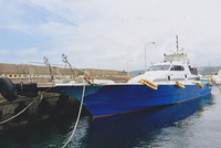 80ft 19ton used frp fishing boat