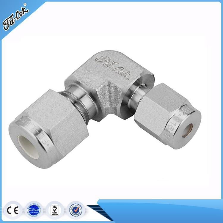 90 degree union reducing elbow swagelok coupling fitting