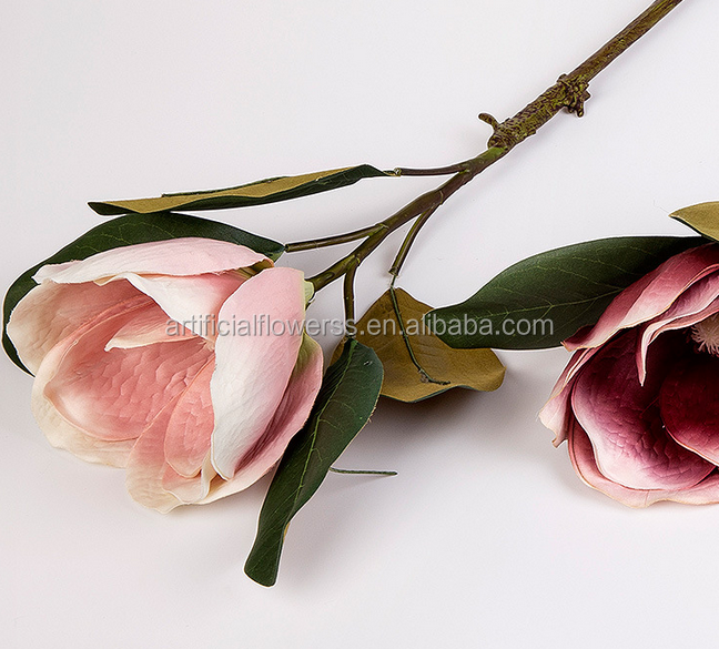 2015 real touch silk artificial Magnolia orchid flower
