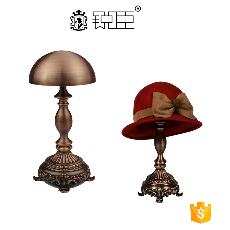 Best seller retail store metal indoor hat diaplay rack