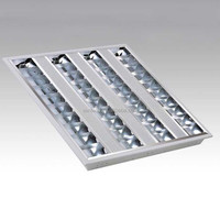 SL111A187 ceiling mounted decorative 60X60 prismatic fluorescent lighting fixture