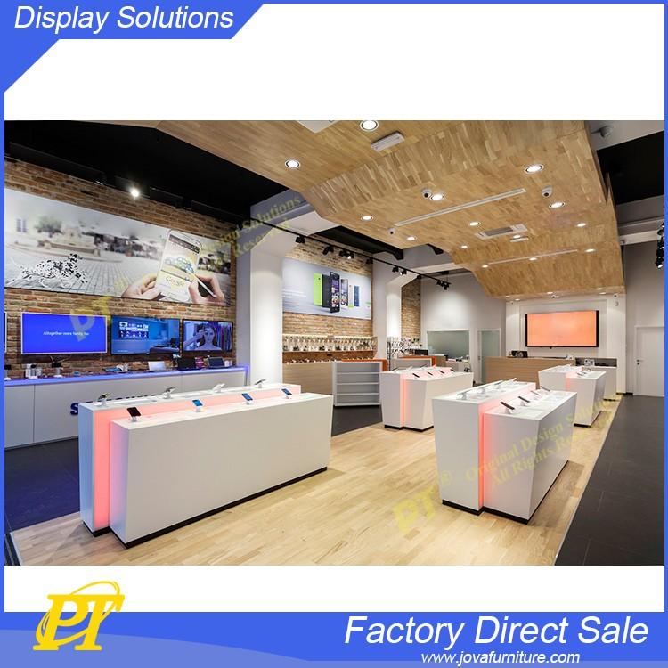 modern shop counter design mobile shop