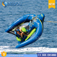 WholeSale Cheap Durable Towable Manta Ray Inflatable Watercraft / Mantaray inflatable boat/ Inflatable Flying Manta Ray