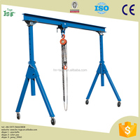 Widely Used Small Gantry Crane Manufacturer High quality single girder electric hoist small gantry crane