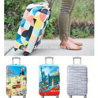 stronger elastic spandex protective cover luggage