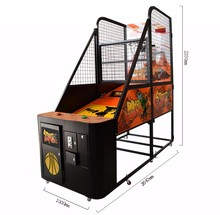 CE Approval street basketball arcade game machine