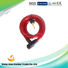 Bicycle steel wire locks