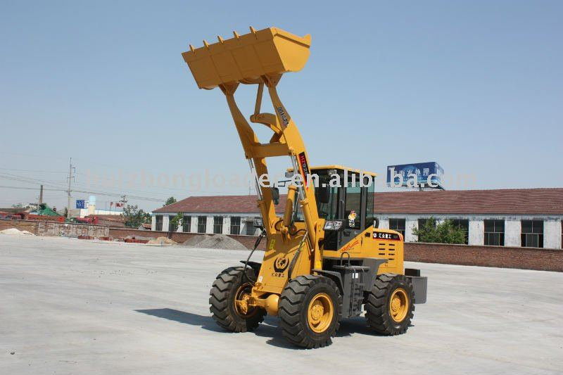 backhoe loader ZL-20 with CE and Quick hitch