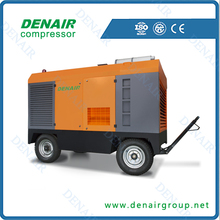 low noise portable air compressor for mining industry