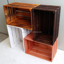 2016 new wood fruit crates products cheap wooden crates for sale
