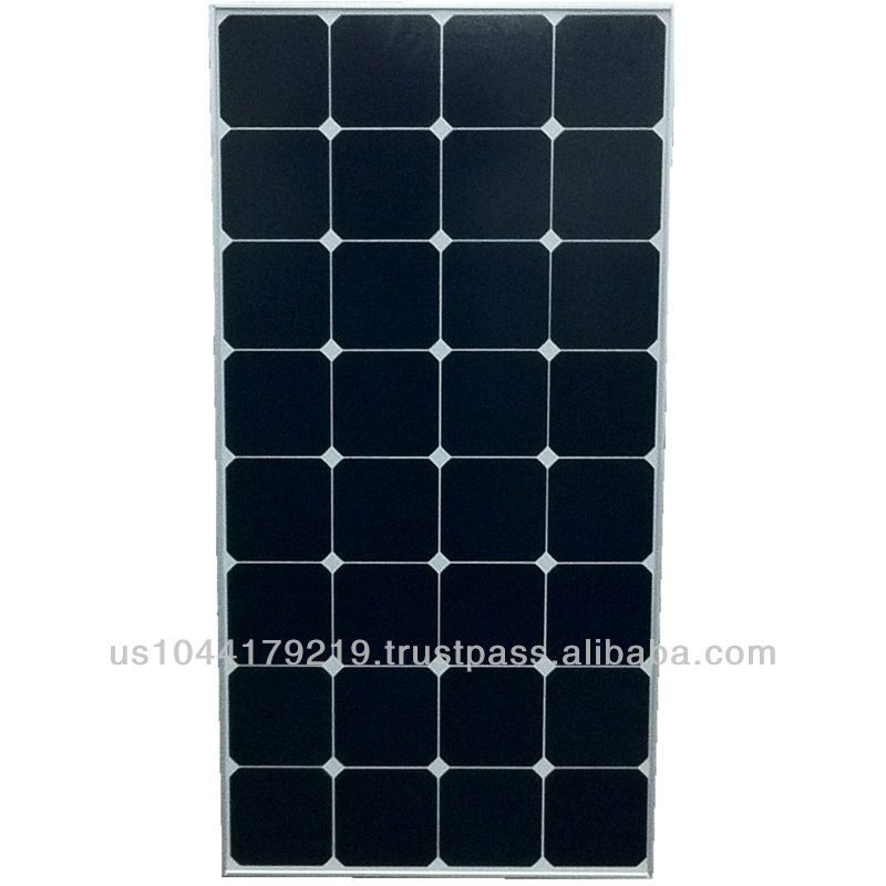 Grape Solar 100W High Efficiency Monocrystalline 12V Off-Grid PV Solar Panel