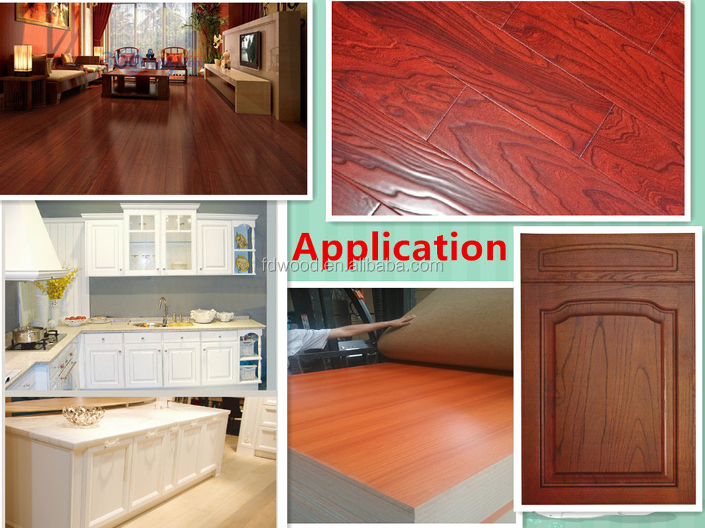 cherry wood grain decorative paper for Furniture