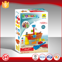 Healthy harmless material floating beach sand sets baby toys made in china
