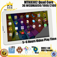 Hot selling 7inch Android4.4 OS quad core smart 3G phone tablet pc