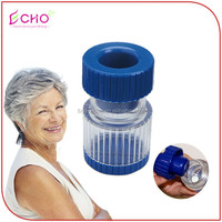 Portable 2 in 1 Pill Crusher and Pill Storage Box