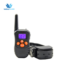 New Products 2016 Innovative Product Electric No Shock Dog Collar 330 Yards Remote Multi-Dog Training System
